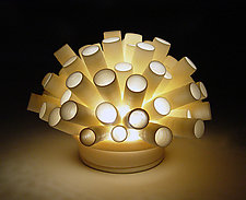Tubes Mini-Light by Lilach Lotan (Ceramic Lamp)