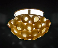 Barnacles Pendant Lamp by Lilach Lotan (Ceramic Pendant Lamp)