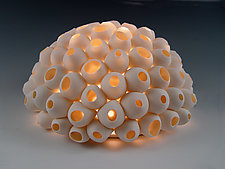 Barnacles Light by Lilach Lotan (Ceramic Table Lamp)