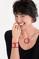 Circle Necklace by Melissa Stiles (Aluminum Necklace)