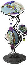 Gypsy Tree by Karen Ehart (Art Glass Sculpture)