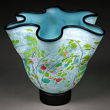 Wilderness Wildflowers by Eric Bladholm (Art Glass Vessel)