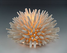 Spikes Light by Lilach Lotan (Ceramic Table Lamp)