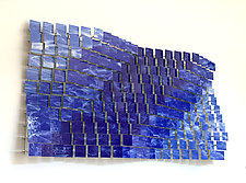 Coast 2 Coast by Karo Martirosyan (Art Glass Wall Sculpture)