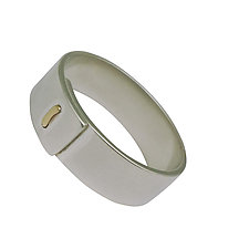 Staple Band by Hilary Hachey (Gold & Silver Ring)