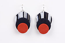 Maya Earring by Klara Borbas (Polymer Clay Earrings)