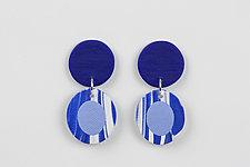 Erika Earring by Klara Borbas (Polymer Clay Earrings)