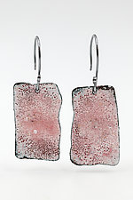 Ejecta Dangle Earrings by Lisa LeMair (Enameled Earrings)