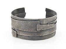 Small Birch Cuff by Sasha Walsh (Silver Bracelet)