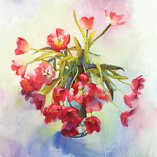 Tulip Fling by Cathy Locke (Giclee Print)