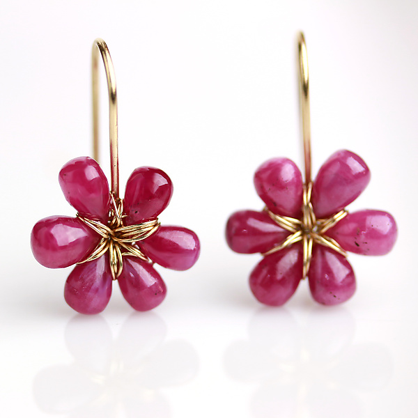 Pink Sapphire Flowers