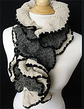 McKay Scarf by Sonya Mackintosh  (Cotton & Merino Wool Scarf)