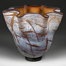 Winter Walnut by Eric Bladholm (Art Glass Vessel)