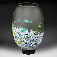 Sagebrush Staccato by Eric Bladholm (Art Glass Vessel)