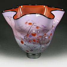 October Orchard Experimental Prototype by Eric Bladholm (Art Glass Vessel)
