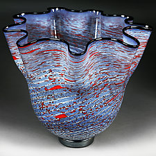 Vecernji Vrt (Evening Garden) Experimental Prototype by Eric Bladholm (Art Glass Vessel)