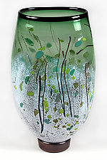 Forest Fantasy by Eric Bladholm (Art Glass Vase)