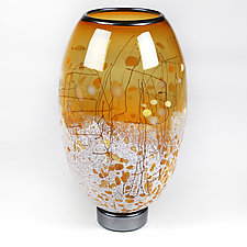 Harmonious Honey by Eric Bladholm (Art Glass Vase)