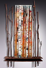 Majestic Memories by Leslie W. Friedman (Art Glass & Metal Sculpture)