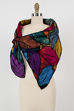 Carol Neck Scarf by Elizabeth Rubidge  (Silk and Wool Scarf)