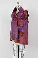 Nuno-Felted Vest by Anne Vincent  (Silk and Wool Vest)