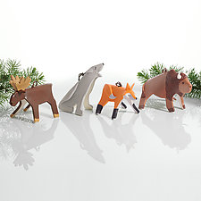 National Parks Set by Beth DiCara (Ceramic Ornaments)