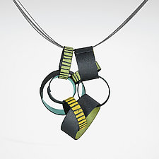 PaperChain Pendant by Lou Ann Townsend and Mary Filapek (Copper Necklace)