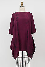 Nu Nu Tunic Pullover with Pockets by Michael Kane  (Shibori Tunic)