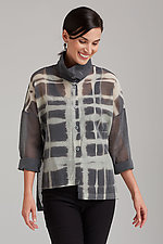 Cotton Chiffon Mies Shirt by Steve Sells Studio  (Chiffon Shirt)