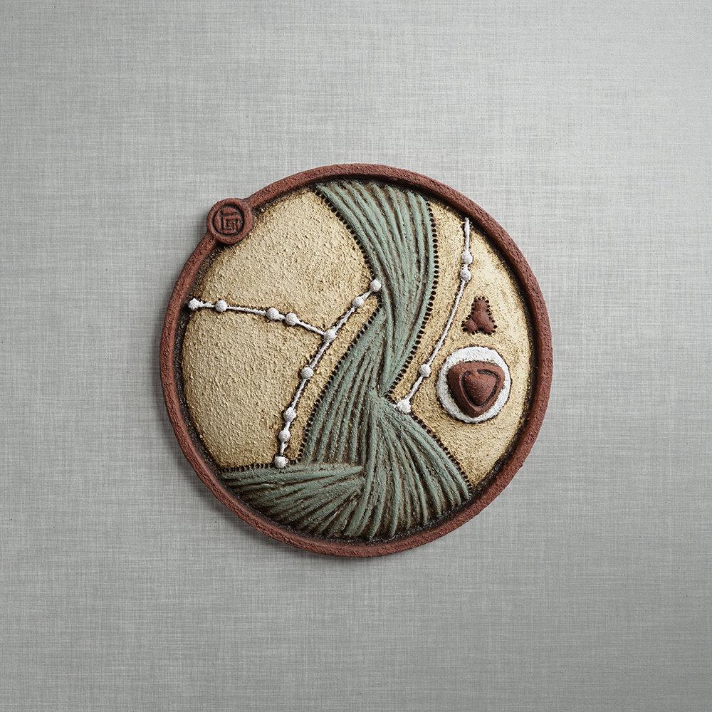 Zephyr Triptych by Christopher Gryder (Ceramic Sculpture)   Artful Home
