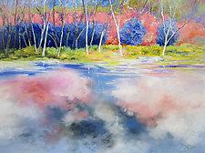 Raspberry Gelato Summer by Judy Hawkins (Oil Painting)