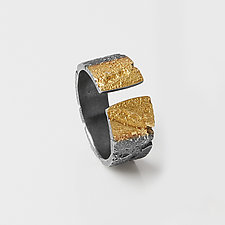 Open Ombre Band by Jenny Reeves (Gold & Silver Ring)