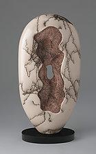 Coral Sculpture I by Jeff Margolin (Ceramic Sculpture)