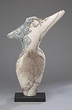 Dancing Figure I by Jeff Margolin (Ceramic Sculpture)