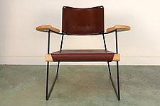 The Putney Chair by Nava Studio (Leather Chair)