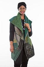 Circular Vest #1 by Mieko Mintz  (Size 1 (2-14), Cotton Vest)