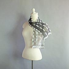 Petite Waterfall Silk Scarf by Mila Sherrer  (Silk Scarf)