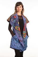 Circular Vest #2 by Mieko Mintz  (Size 1 (2-14), Cotton Vest)