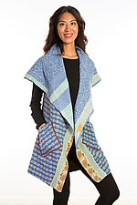 Circular Vest #3 by Mieko Mintz  (Size 1 (2-14), Cotton Vest)