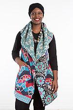 Circular Vest #5 by Mieko Mintz  (Size 1 (2-14), Cotton Vest)