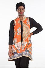 A-Line Vest #2 by Mieko Mintz  (Size 1 (2-14), Cotton Vest)