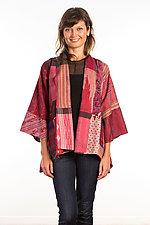 Kimono Jacket #4 by Mieko Mintz  (One Size (2-18), Silk Jacket)