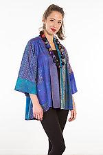 Kimono Jacket #5 by Mieko Mintz  (One Size (2-18), Silk Jacket)