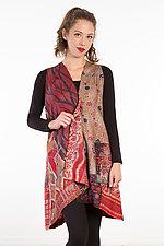 Wrap Vest #7 by Mieko Mintz  (Size 1 (2-14), Silk Vest)