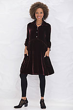 Aubree Velvet Dress by Bodil Knighton  (Woven Dress)