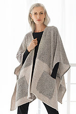 Verso Poncho by Go Lightly  (Woven Cape)