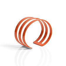 Band Cuff Bracelets by Melissa Stiles (Steel Bracelet)