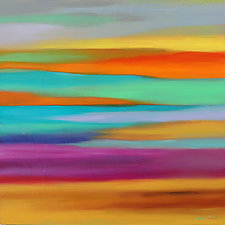 Abstract 268 by Mary Johnston (Oil Painting)