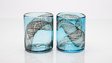 Dark Matter Glasses by Andrew Iannazzi (Art Glass Drinkware)