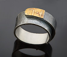 Chaco Wrap Band by Patricia McCleery (Gold & Silver Ring)